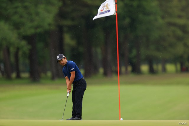 2021年 アジアパシフィックダイヤモンドカップゴルフ 最終日 比嘉一貴 Hole3 par5 660yards birdie