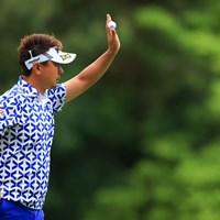 はい。普通のパーです 2021年 アジアパシフィックダイヤモンドカップゴルフ 最終日 塚田陽亮