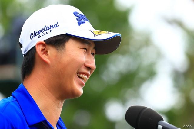 2021年 アジアパシフィックダイヤモンドカップゴルフ 最終日 星野陸也 星野陸也は今季3勝目で東京五輪代表圏内に浮上する見込みだ