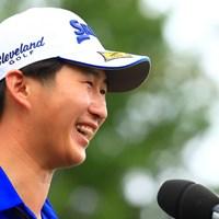 星野陸也は今季3勝目で東京五輪代表圏内に浮上する見込みだ 2021年 アジアパシフィックダイヤモンドカップゴルフ 最終日 星野陸也