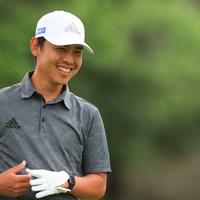 アマチュアと笑い話 2021年 ゴルフパートナー PRO-AMトーナメント 初日 杉本エリック