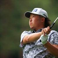 Hole18 par4 479yards second shot 2021年 ゴルフパートナー PRO-AMトーナメント 初日 大槻智春