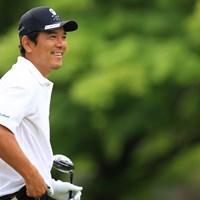 一言いいですか。かっこいい。 2021年 ゴルフパートナー PRO-AMトーナメント 初日 矢野東