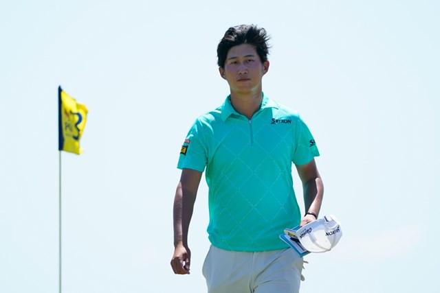 2021年 全米プロゴルフ選手権 初日 星野陸也 星野陸也は初日「76」で出遅れた(撮影/田邉安啓)