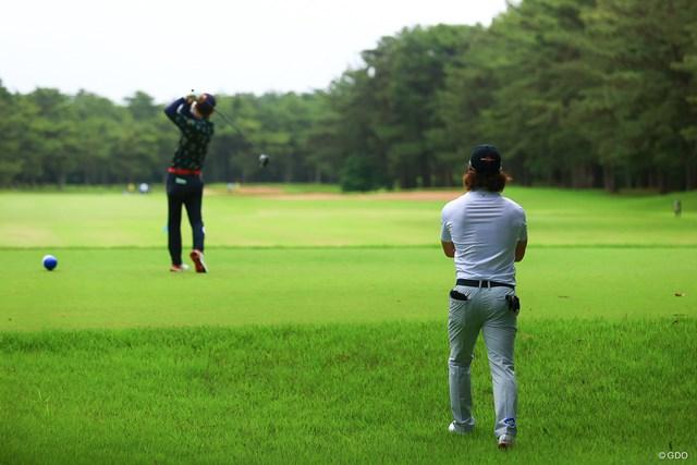 2021年 ゴルフパートナー PRO-AMトーナメント 2日目 石川遼 こんなの緊張して打てません