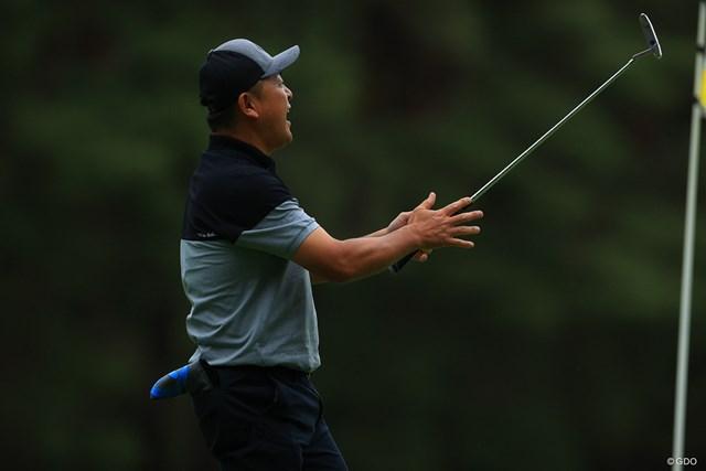 2021年 ゴルフパートナー PRO-AMトーナメント 2日目 谷繁元信 さすが元プロ野球選手。ナイスアクションでした