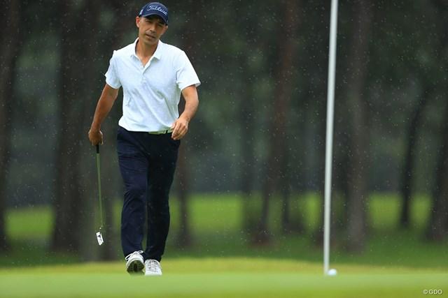 2021年 ゴルフパートナー PRO-AMトーナメント 2日目 和田一浩 野球もゴルフも奥が深いスポーツ