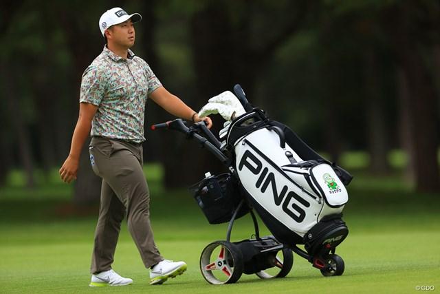 2021年 ゴルフパートナー PRO-AMトーナメント 2日目 亀代順哉 今週はQTランク33位の資格で出場