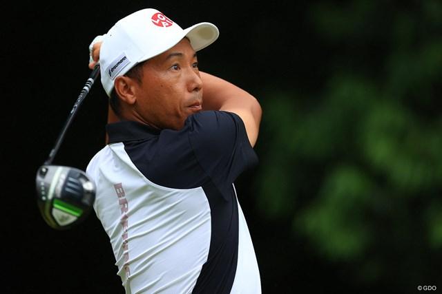 2021年 ゴルフパートナー PRO-AMトーナメント  3日目 内藤寛太郎 レギュラーツアー未勝利の39歳。最終日最終組です