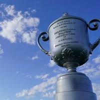 プロゴルファー世界一の称号・ワナメーカートロフィ― 2021年 全米プロゴルフ選手権 2日目 ワナメーカートロフィ―
