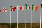2021年 全米プロゴルフ選手権 2日目 国旗