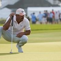 ブルックス・ケプカは右ひざに痛みを抱えながら優勝争い(撮影/田邉安啓) 2021年 全米プロゴルフ選手権 3日目 ブルックス・ケプカ