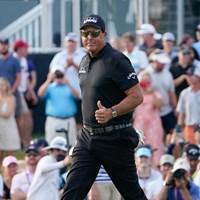 メジャー最年長優勝記録更新なるか。50歳のミケルソン(撮影/田邉安啓) 2021年 全米プロゴルフ選手権 3日目 フィル・ミケルソン