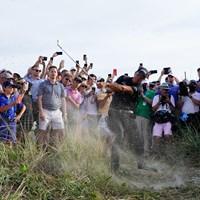 トラブルショットこそ見逃せない選手(撮影/田邉安啓) 2021年 全米プロゴルフ選手権 3日目 フィル・ミケルソン
