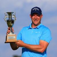 ショーン・ノリスが三つどもえのプレーオフを制し、ツアー5勝目を挙げた 2021年 ゴルフパートナー PRO-AMトーナメント 4日目 ショーン・ノリス