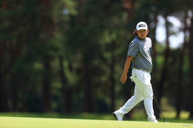 2021年 ゴルフパートナー PRO-AMトーナメント 4日目 大槻智春 もう少しパットが入っていたら圧勝だっただろう