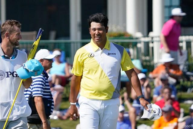 2021年 全米プロゴルフ選手権 4日目 松山英樹 最後は笑顔でフィニッシュ(撮影/田邉安啓)