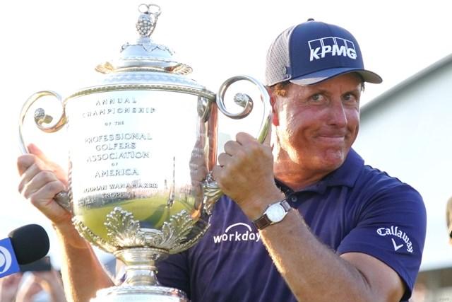 2021年 全米プロゴルフ選手権 4日目 フィル・ミケルソン ミケルソンがメジャー最年長優勝を遂げた
