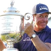 ミケルソンがメジャー最年長優勝を遂げた 2021年 全米プロゴルフ選手権 4日目 フィル・ミケルソン
