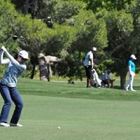 ゴルフは飛距離だけじゃない 2021年 バンク・オブ・ホープLPGAマッチプレー 初日 上原彩子