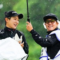 SMILING IN THE RAIN 2021年 リゾートトラスト レディス 初日 成田美寿々