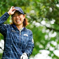 SMILING IN THE RAIN 2021年 リゾートトラスト レディス 初日 原江里菜