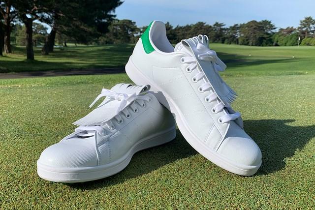 アディダスの名作シューズをゴルフ場で履いてみた アディダス「スタンスミス ゴルフ」