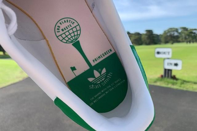 アディダスの名作シューズをゴルフ場で履いてみた 「スタンスミス ゴルフ」のインソール