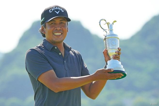 43歳パグンサンが初優勝 2位永野竜太郎とともに全英切符獲得