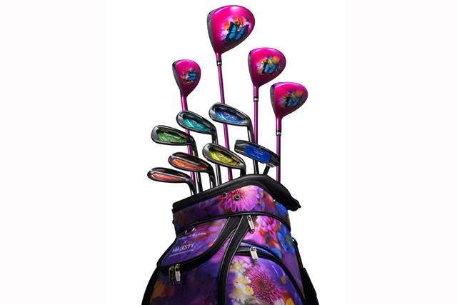 20201年 「HER MAJESTY COLLECTION」 マジェスティゴルフと蜷川実花氏がコラボ! 色鮮やかなデザインが印象的だ