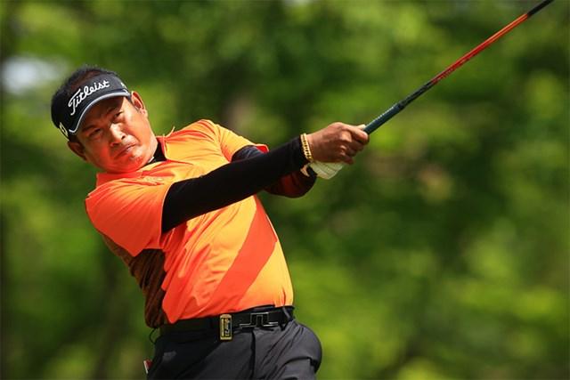 2021年 すまいーだカップ シニアゴルフトーナメント 初日 タワン・ウィラチャン タワン・ウィラチャンが首位発進した(提供:日本プロゴルフ協会)