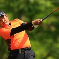 タワン・ウィラチャンが首位発進した(提供:日本プロゴルフ協会) 2021年 すまいーだカップ シニアゴルフトーナメント 初日 タワン・ウィラチャン