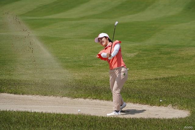 2021年 ヨネックスレディスゴルフトーナメント 事前 古江彩佳 世界ランキング27位の古江彩佳