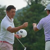 連覇、狙います。 2021年 日本ツアー選手権 森ビル杯 Shishido Hills 初日 堀川未来夢