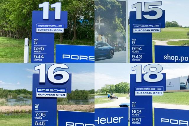2021年 ポルシェ ヨーロピアンオープン 事前 グリーンイーグルGC グリーンイーグルGCのバックナインはパー5が4つ。長い…