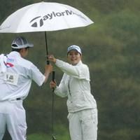 雨の中で安定したプレーを見せた 2021年 ヨネックスレディスゴルフトーナメント 初日 山路晶