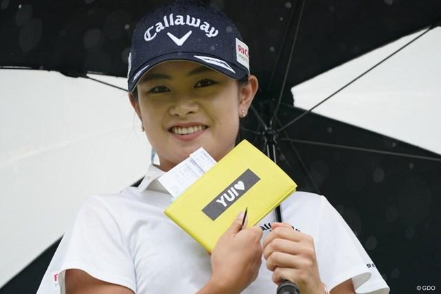 2021年 ヨネックスレディスゴルフトーナメント 初日 河本結 YUI