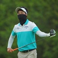 謎の覆面ゴルファー。 2021年 日本ツアー選手権 森ビル杯 Shishido Hills 2日目 和田章太郎