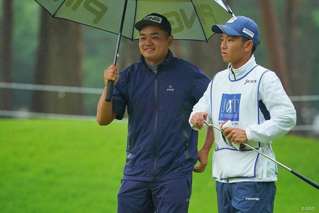 2021年 日本ツアー選手権 森ビル杯 Shishido Hills 2日目 大岩龍一 今週も初優勝のチャンスが巡ってきそう。それにしても笑顔がカワイイ。
