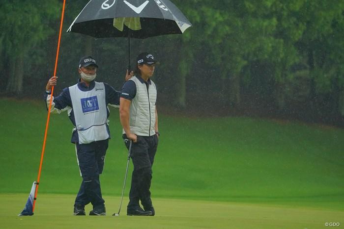 雨は嫌だねぇ。 2021年 日本ツアー選手権 森ビル杯 Shishido Hills 2日目 石川遼