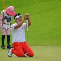 キャディさん、一緒に悲しんでくれよ。 2021年 日本ツアー選手権 森ビル杯 Shishido Hills 3日目 上井邦裕