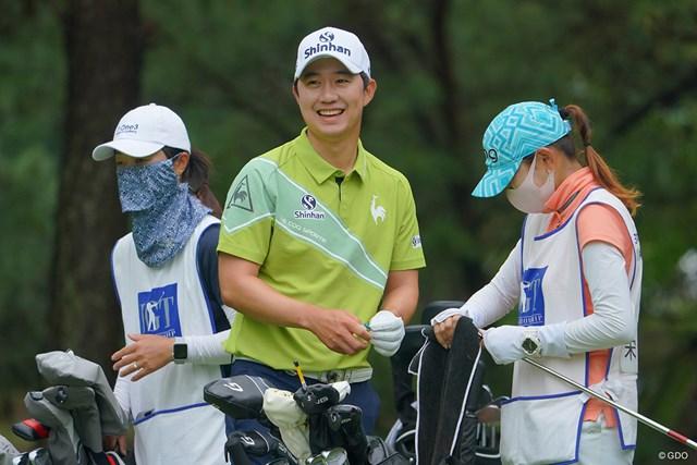 2021年 日本ツアー選手権 森ビル杯 Shishido Hills 3日目 ソン・ヨンハン そりゃ、女性に人気だよねぇ。優しそうだもん。