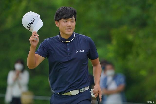 2021年 日本ツアー選手権 森ビル杯 Shishido Hills 3日目 古川雄大 「雄大」と書いて「ゆうき」。23歳の古川雄大がメジャーの最終日最終組で名前を売る