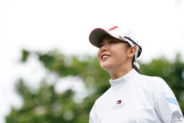 2021年 ヨネックスレディスゴルフトーナメント 最終日 吉田優利 かわいい笑顔