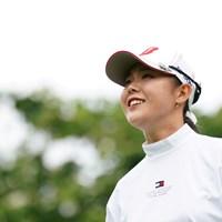 かわいい笑顔 2021年 ヨネックスレディスゴルフトーナメント 最終日 吉田優利