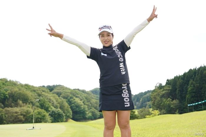 笠りつ子が完全優勝を果たした 2021年 ヨネックスレディスゴルフトーナメント  最終日 笠りつ子