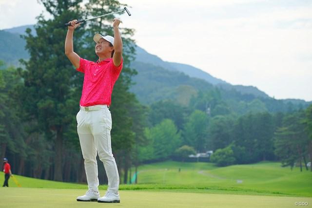 2021年 日本ツアー選手権 森ビル杯 Shishido Hills 4日目 木下稜介 木下稜介が万感の初優勝をメジャータイトルで飾った