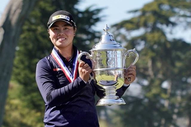 2021年 全米女子オープン 4日目 笹生優花 笹生優花が10代メジャー優勝の快挙を達成した