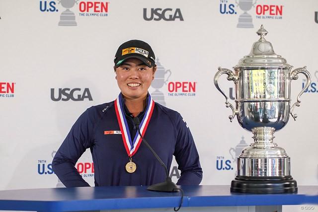 2021年 全米女子オープン 4日目 笹生優花 笹生優花の快挙に日本のゴルフ界も沸いた