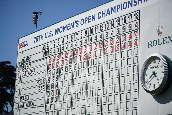 誇りのリーダーボード 2021年 全米女子オープン 4日目 リーダーボード